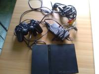 Playstation 2 slim+kontroler+daljinec