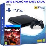 PS4 SONY igralna konzola Playstation 4 Slim 500GB in NBA 2K20