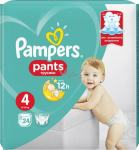 Pampers pants 4 (24 hlačnih plenic)