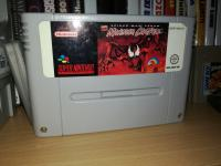 SPIDER-MAN VENOM MAXIMUM CARNAGE NINTENDO SNES PAL