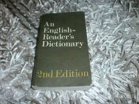 AN ENGLISH READER`S DICTIONARY