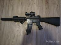 G&G Top Tech M4 airsoft MENJAVE