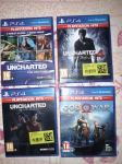 Igra za Ps4: God of War, Uncharted Collection,Uncharted 4 in 5