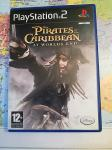 Original Igra za PS2 - PIRATES OF THE CARIBBEAN - AT WORLD`S