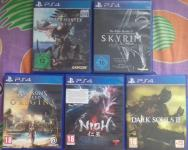 PS4 igre (Assassin's creed origins, Dark Souls , Monster Hunter world)