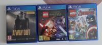 PS4 — LEGO STAR WARS, A WAY OUT, LEGO AVENGERS