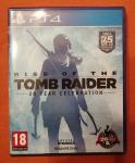 Rise of the tomb raider 20 year celebration edition PS4