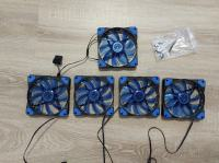 5x Ventilator led moder 120mm NOVI