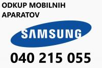 ODKUP Samsung S20 PLUS/S20/S10/S21/NOTE 20 ULTRA/S9/S9 PLUS/NOTE 9