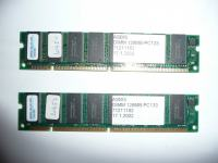 SDRAM 2x128MB PC133
