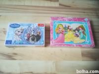 Puzzle Frozen in Princess