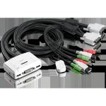 TRENDnet Trendnet TK-214i 2-Port DVI USB KVM Switch Kit with Audio
