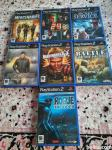8 kom PS2 igre playstation 2 game, 2 x Ps2 kontroler,jojstik,gamepad
