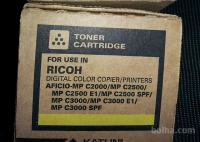 RICOH toner yellow in cyan