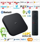Android TV Box Mi S Android 9 4K 2/8/64G HBO NEO EON T-2 TV Netflix 4K