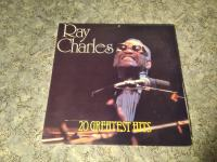 RAY CHARLES -THE GENIUS 20 GREATEST HITS- 2×LP