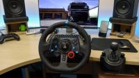 Driving Wheel - Volan GT29 Logitech + The Crew 2 Game