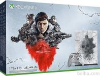 Xbox One X 1TB Gears 5 Limited Edition + 225 iger + Xbox Live Gold ...