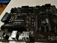 MB 1151 MSI Z370-A PRO (Coffee-Lake) ATX VGA DVI DisplyPort bele LED