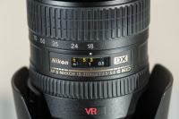 Nikon NIKKOR AF-S DX 18-200mm f/3.5-5.6G IF-ED VR (NOV)