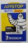zračnica MICHELIN BUTYL Junior AIRSTOP 500A, 1.1-1.5, Presta