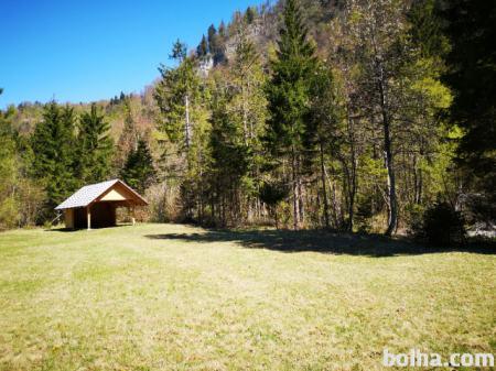 Posest, Gorenjska, Zgornje Gorje, Krnica, kmetijsko zemljišče, 500 m2,