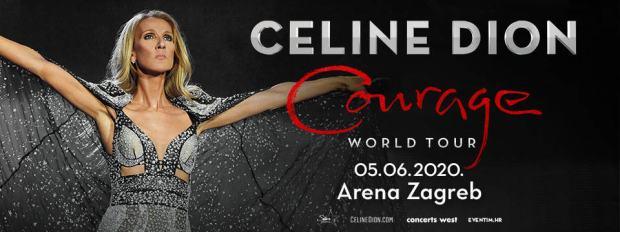 Celine Dion Arena Zagreb 05 06 2020 Odlicen Razgled