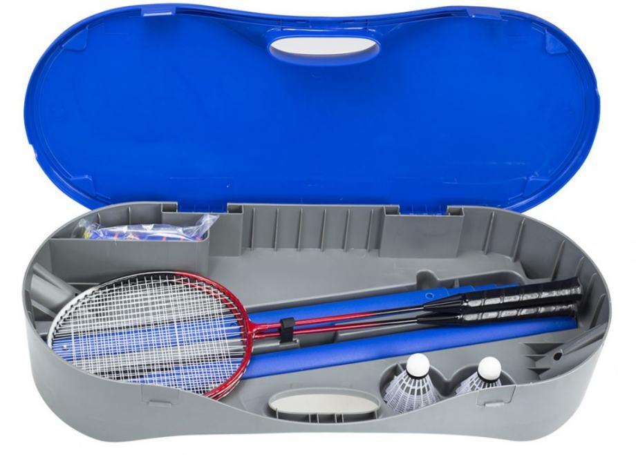Mreža za tenis in badminton 2 v 1